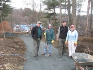 Volunteers On The Trail