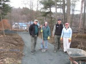 Volunteers On The Trail