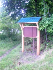 New MRG Kiosk at Intersection of High, Mascoma, and Mechanic
