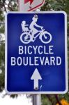 Bicycle Boulevard sign